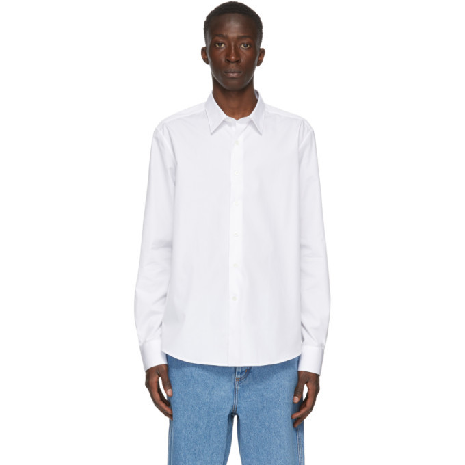 Photo: Lanvin White Fitted Shirt
