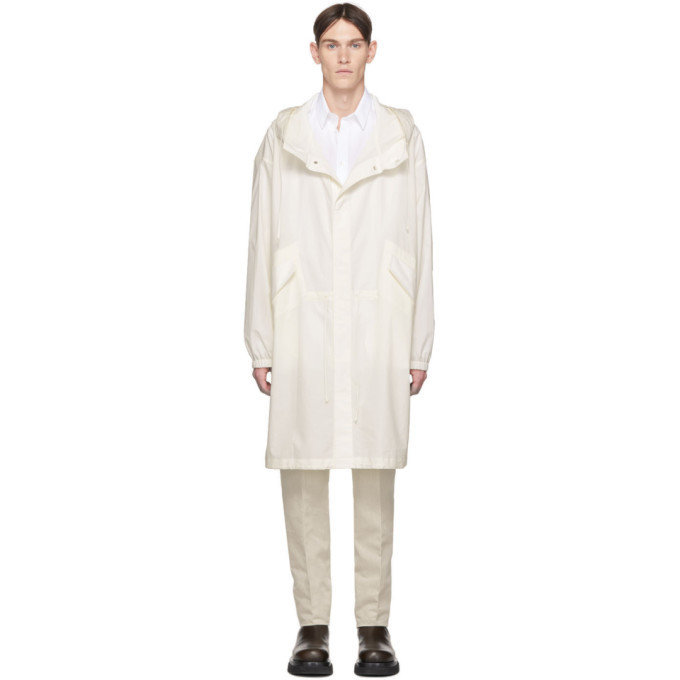 Photo: Jil Sander Off-White Logo Parka