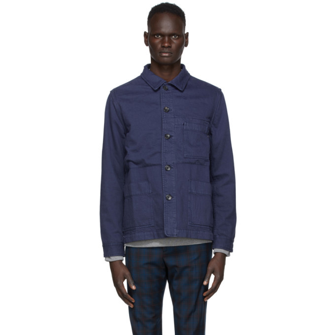 Photo: PS by Paul Smith Navy Work Jacket