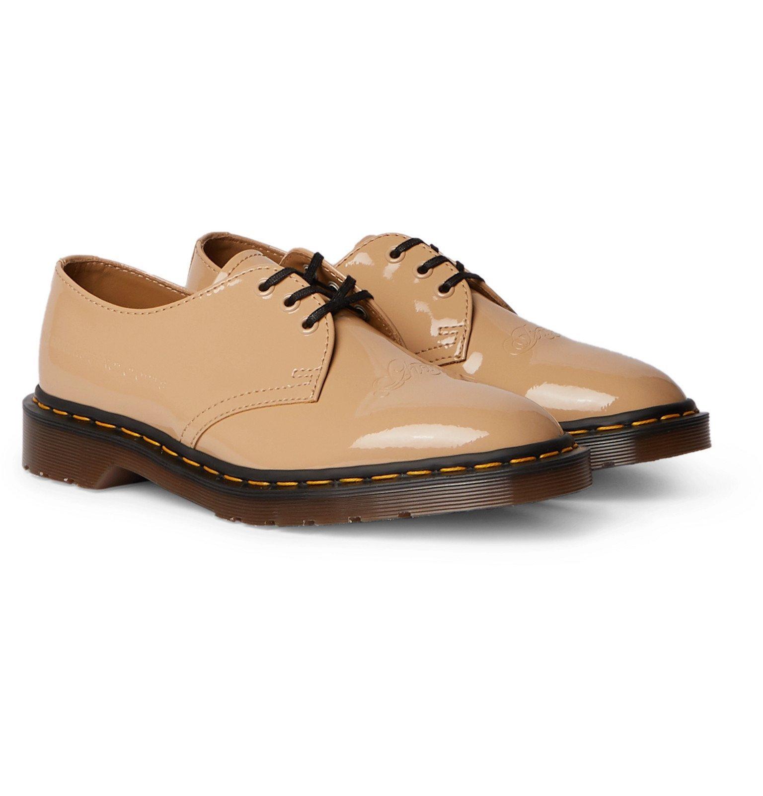 Photo: Dr. Martens - Undercover Patent-Leather Derby Shoes - Neutrals
