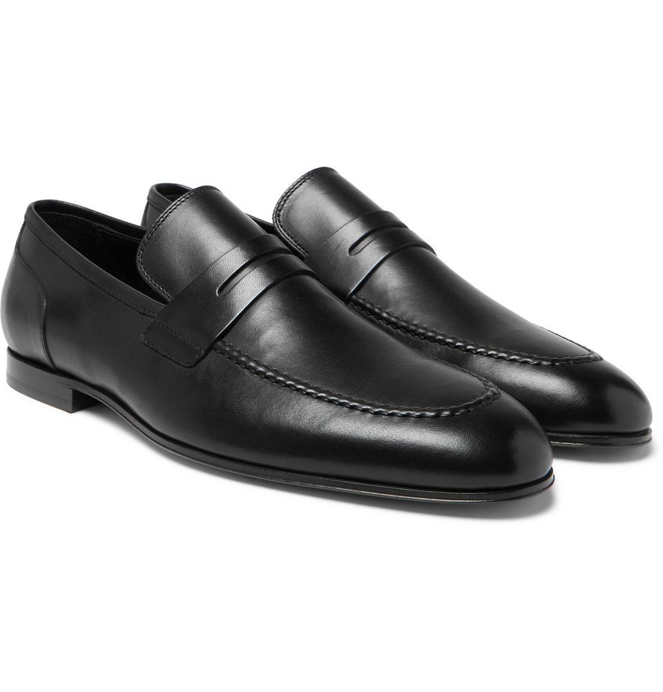 Photo: Paul Smith - Chilton Leather Penny Loafers - Black