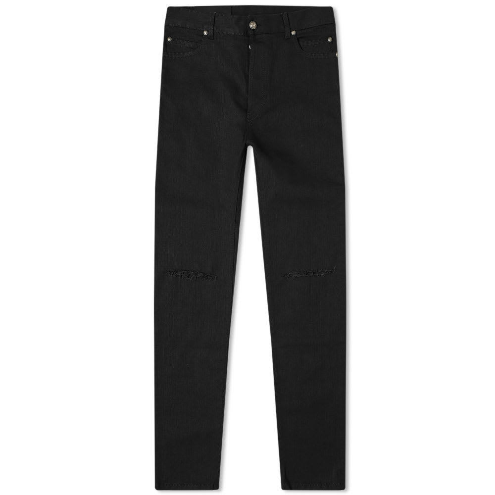 Photo: Balmain Skinny Distressed Jean