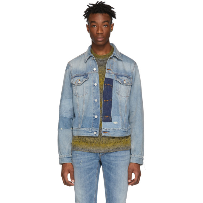 Photo: Acne Studios Indigo Bla Konst Denim 1998 Vintage Jacket