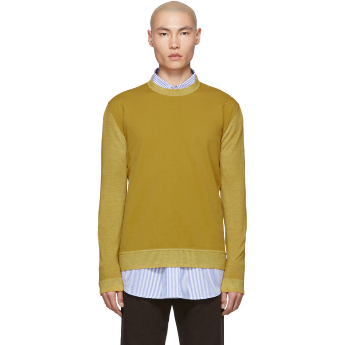 Photo: Marni Yellow Wool Sweater