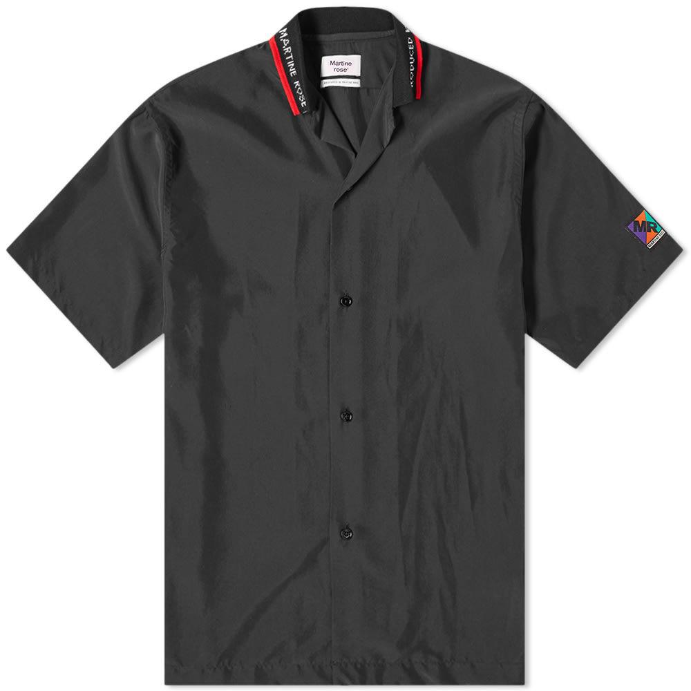 Photo: Martine Rose Rib Logo Short Sleeve Vacation Shirt