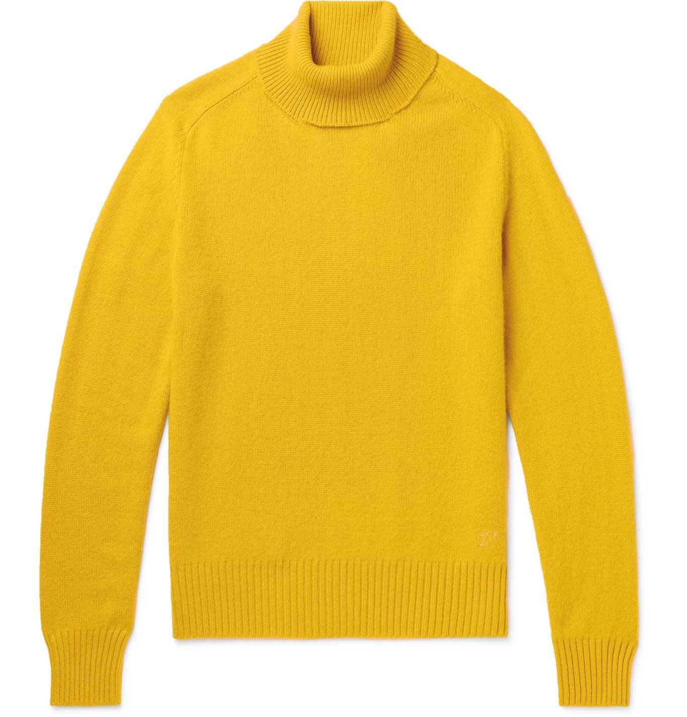 Photo: Valstar - Cashmere Rollneck Sweater - Yellow