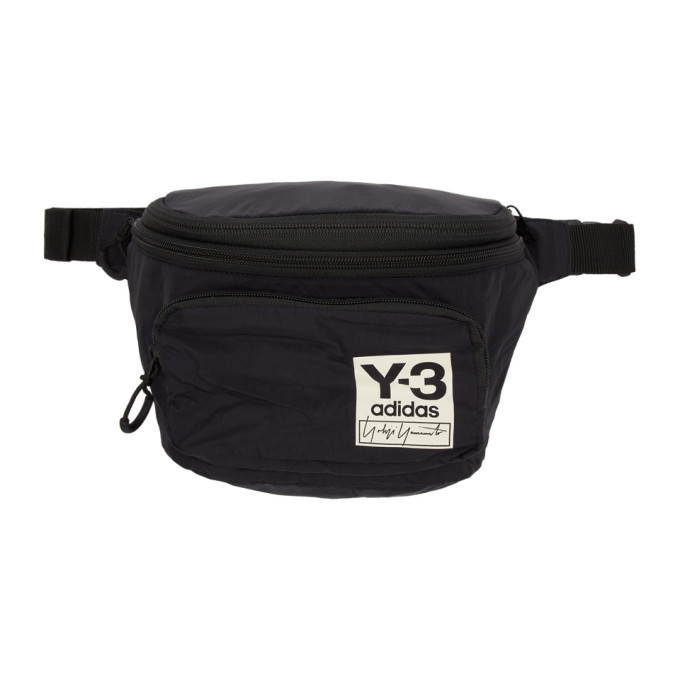 Photo: Y-3 Black Packable Backpack Pouch