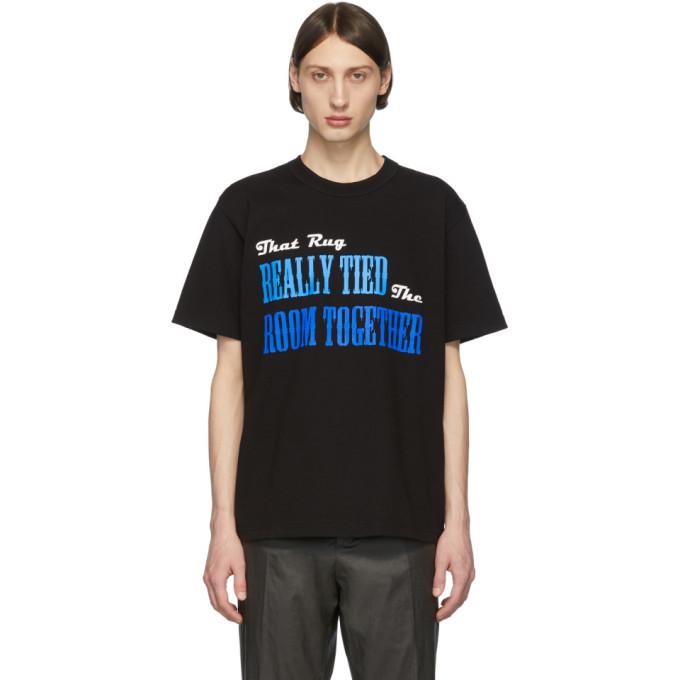Sacai Black The Big Lebowski T-Shirt