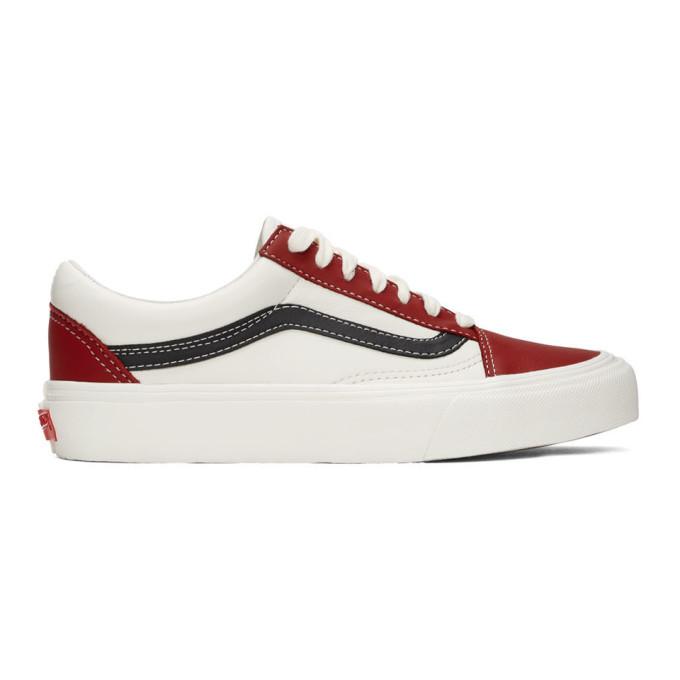 White OG Old Skool VLT LX Sneakers Vans