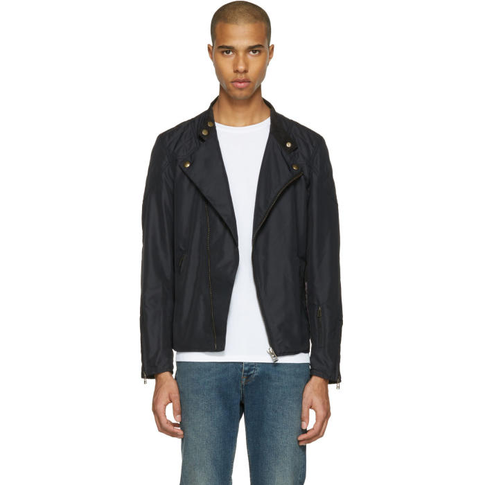 Photo: Belstaff Black Sophnet Capsule Water Jacket