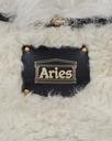 Aries Elis Sheepskin Waist Bag White