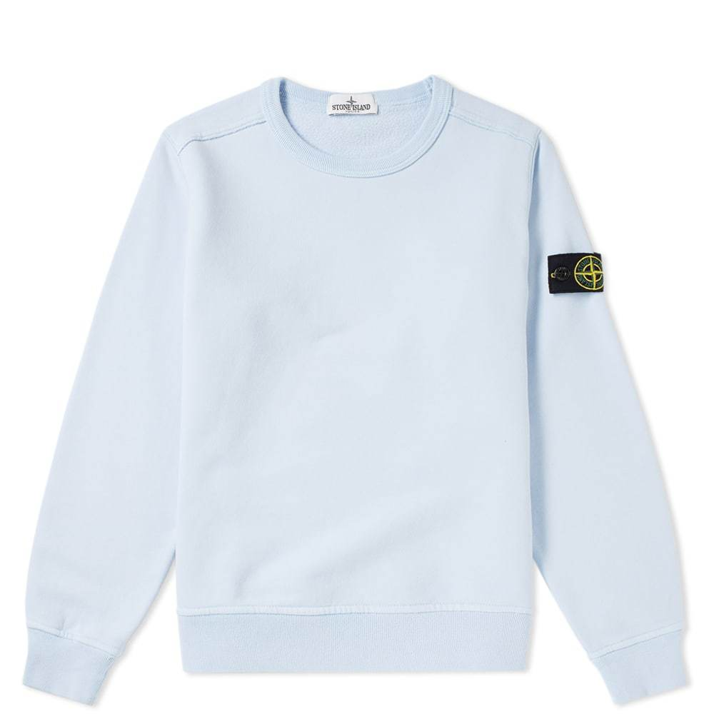 Photo: Stone Island Junior Crew Sweat Blue