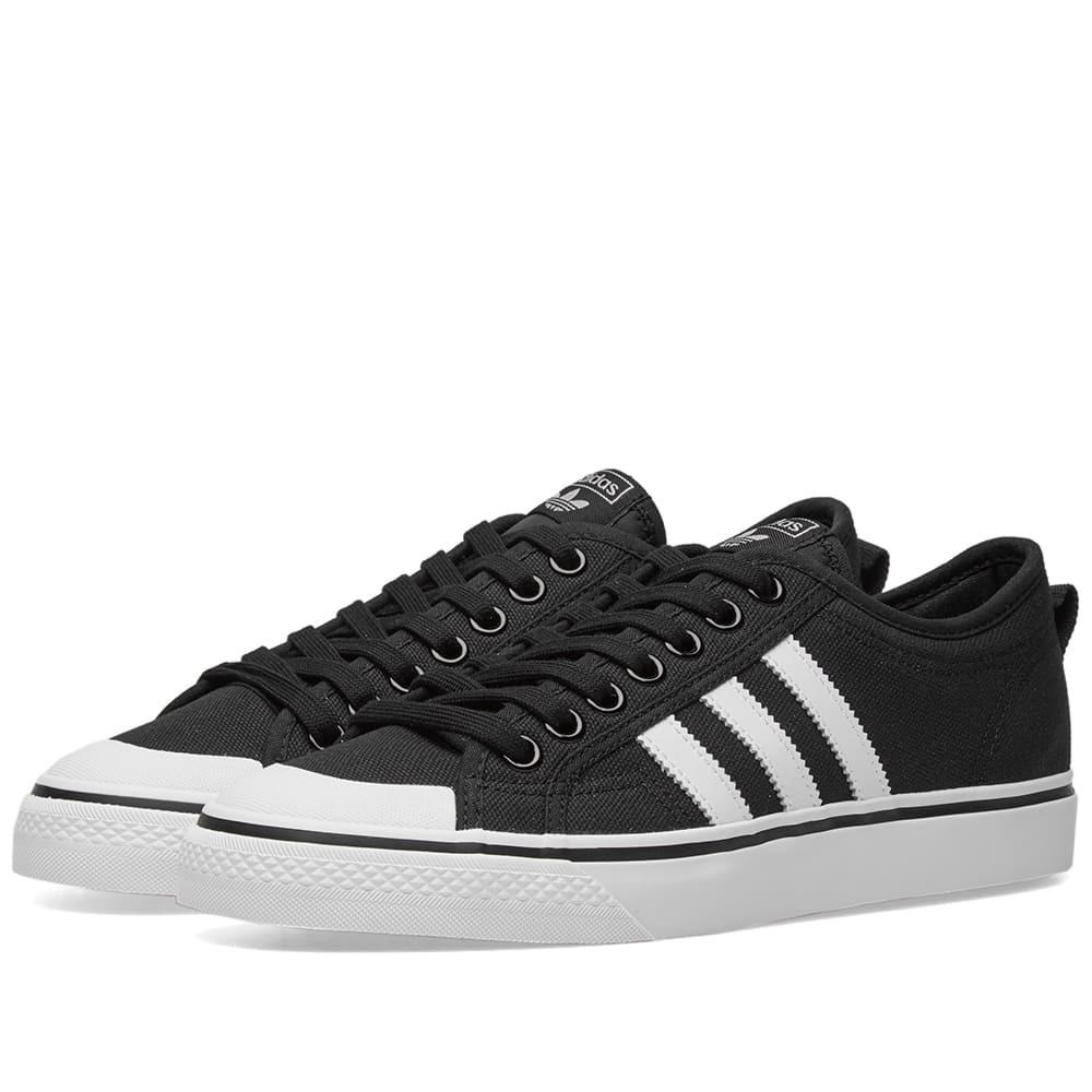 Adidas Nizza Black