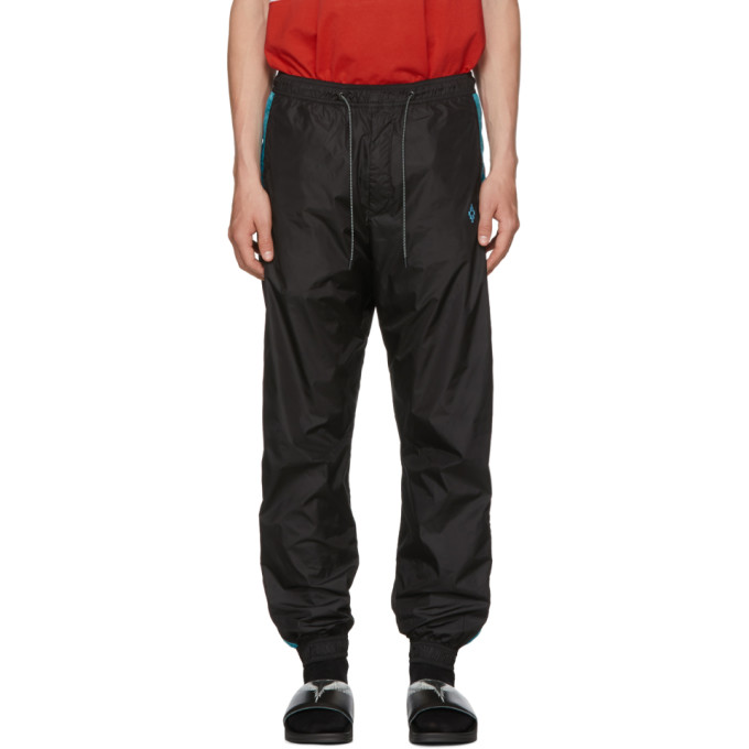 Photo: Marcelo Burlon County of Milan Black Color Band Track Pants