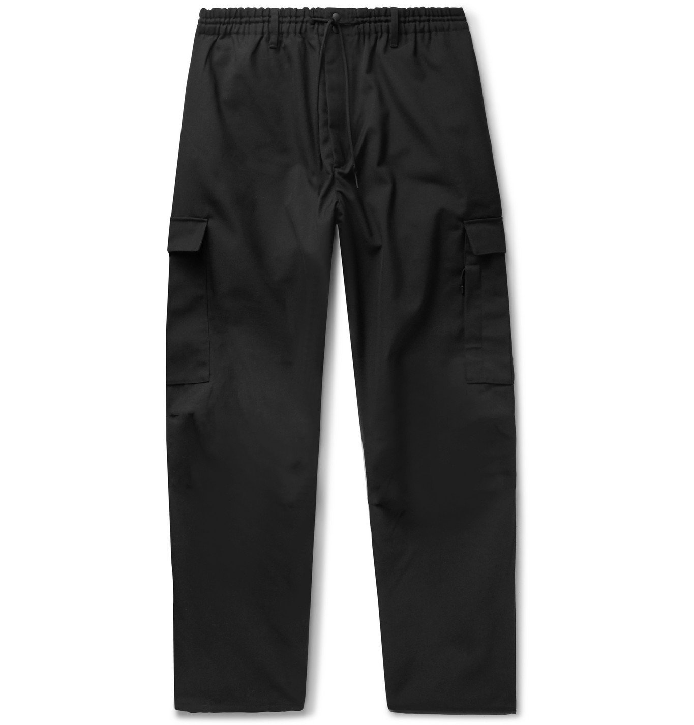 Photo: Y-3 - Drill Cargo Trousers - Black