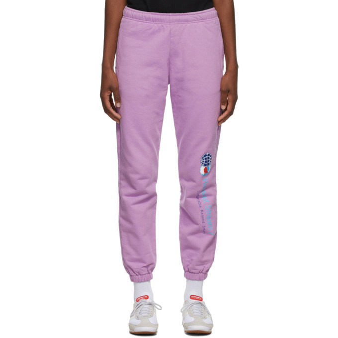 Photo: Rassvet Purple Stream 7 Lounge Pants