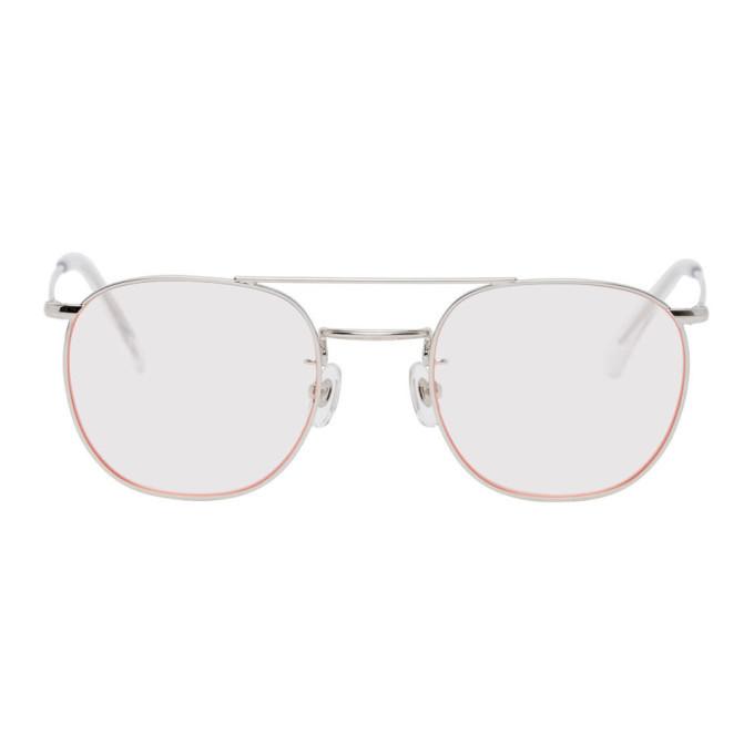 Photo: Wacko Maria Pink Round Sunglasses