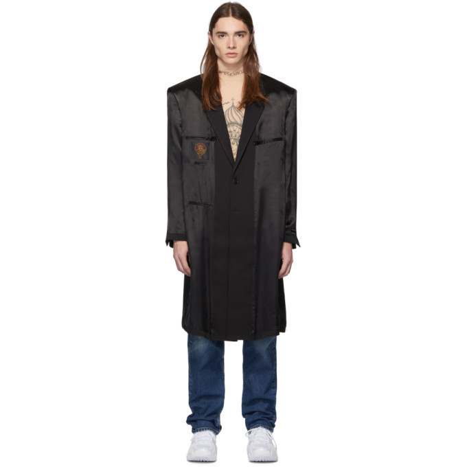 Photo: Vetements Black Inside-Out Coat