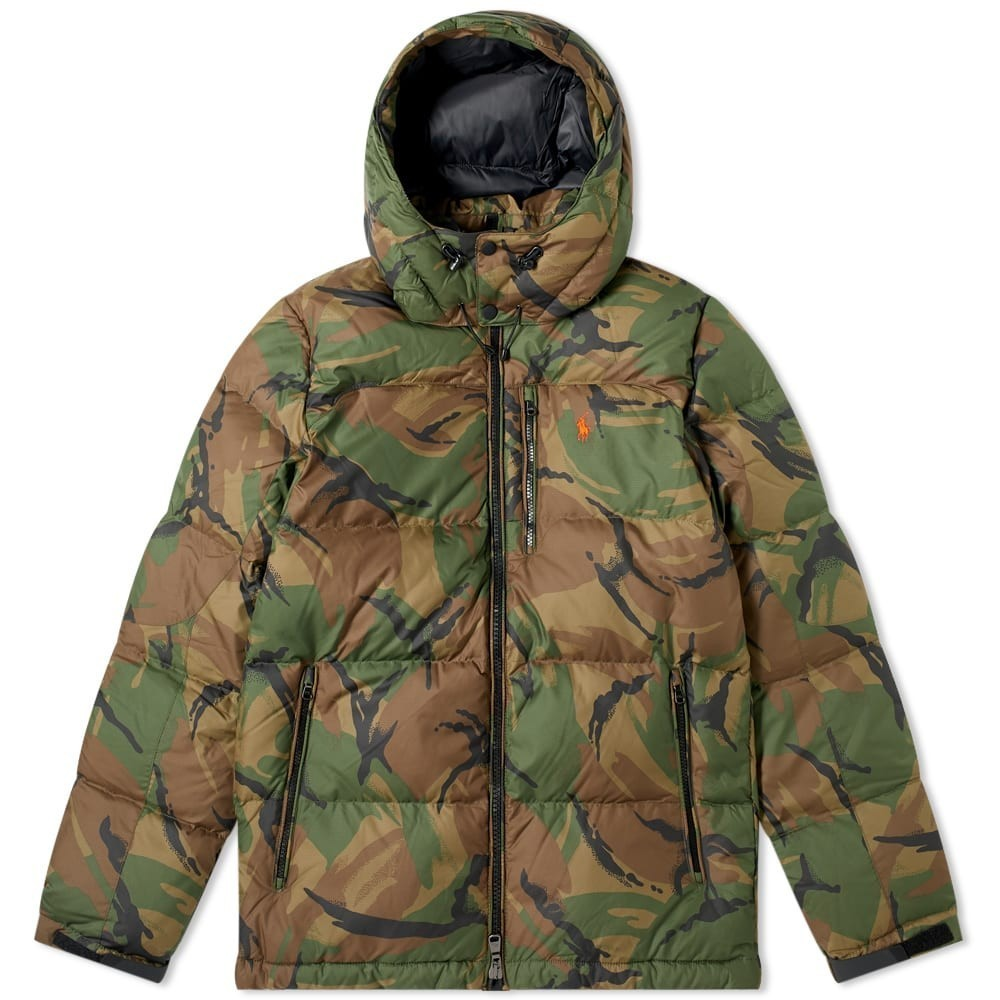 Photo: Polo Ralph Lauren Camo Filled Down Jacket