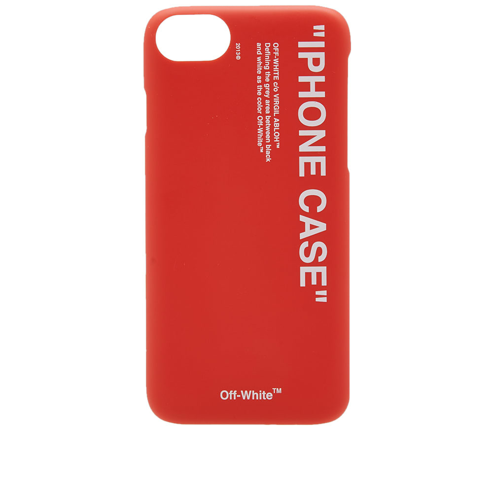 Off-White Quote iPhone 8 Case