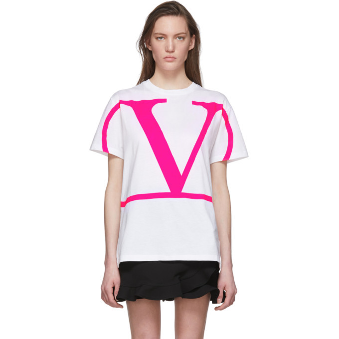 Photo: Valentino White VLogo T-Shirt