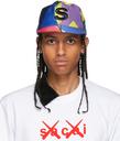 Sacai Multicolor KAWS Edition 'S' Cap