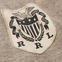 RRL - Twill-Trimmed Mélange Cotton-Blend Jersey Rugby Shirt - Neutrals