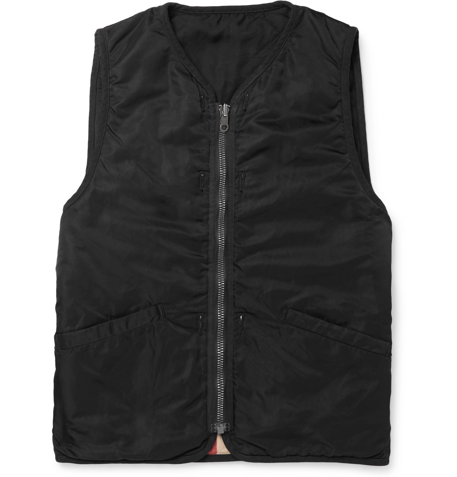 Photo: visvim - Iris Padded Shell Gilet - Black