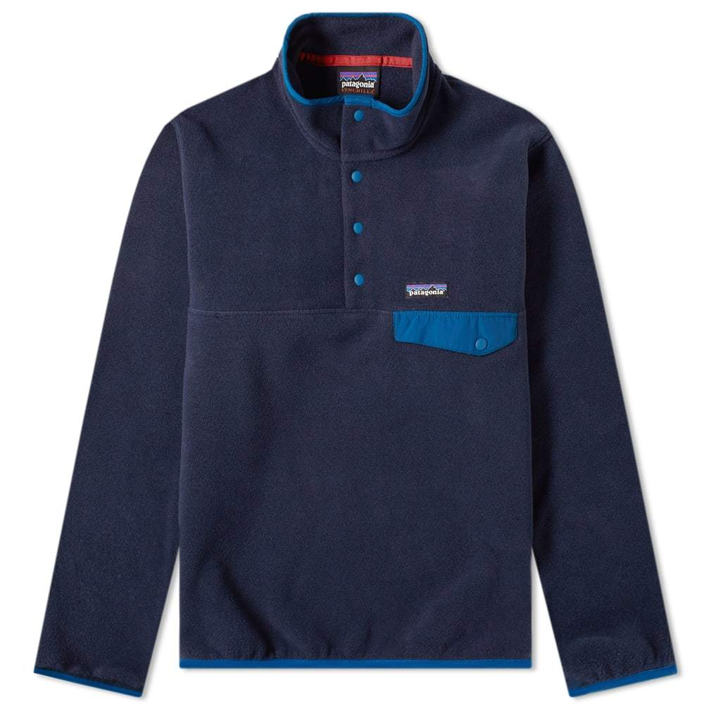 Photo: Patagonia Synchilla Snap-T Pullover Blue