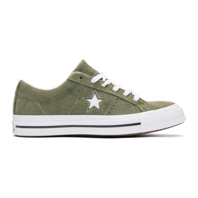 8dbb33e12279 ... promo code by converse by john varvatos. converse green suede one star  ox sneakers 19a57 ...