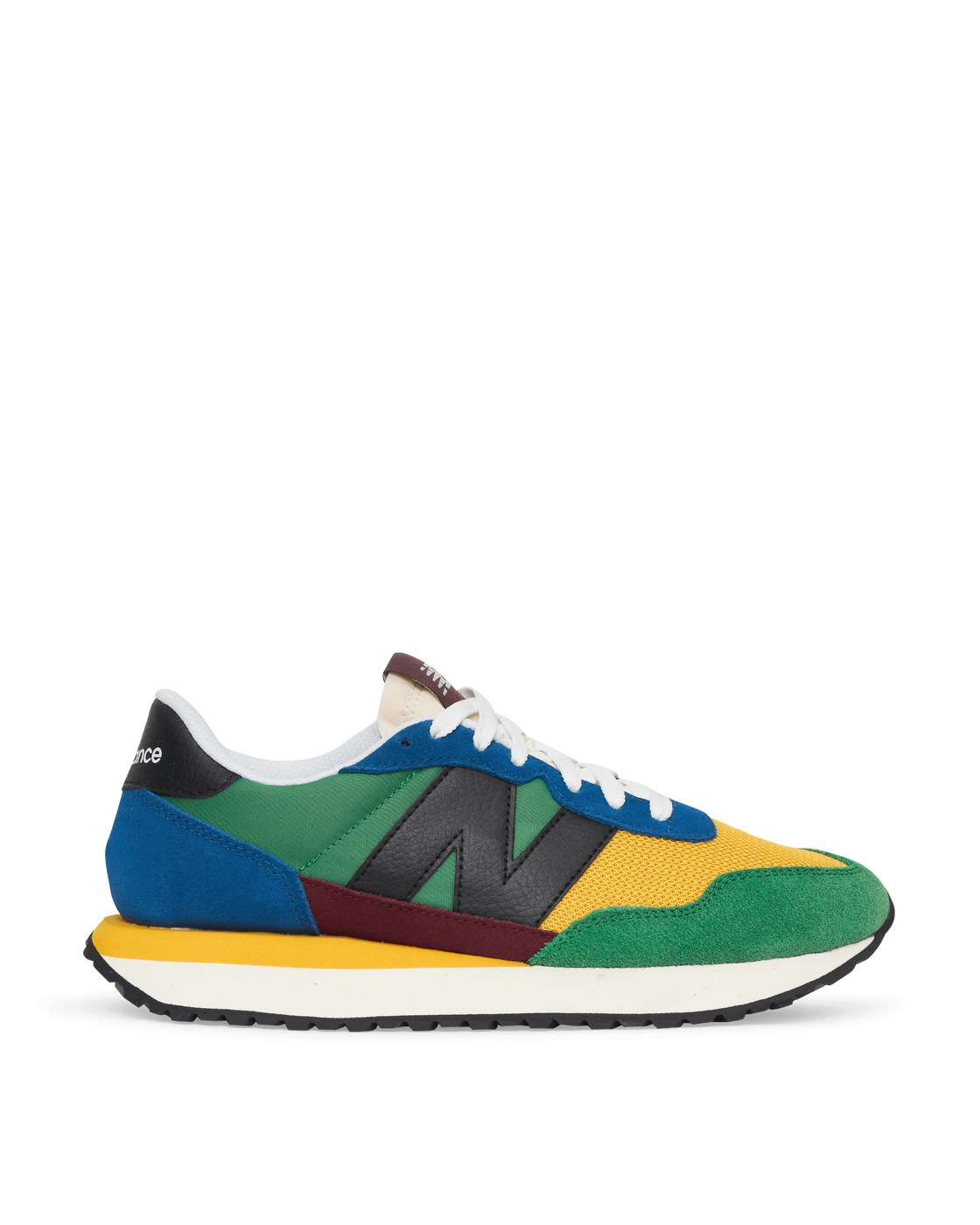 Photo: New Balance Ms237lb Sneakers Captain Blue/Multi