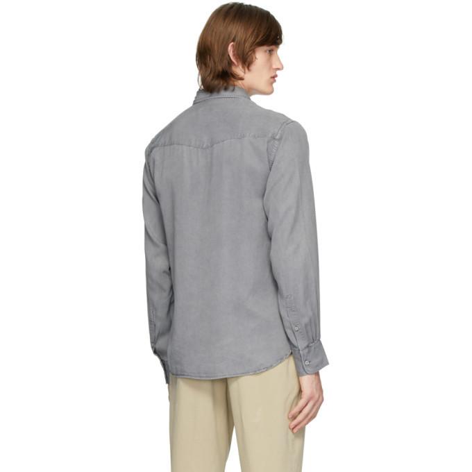 Officine Generale Grey Benoit Shirt