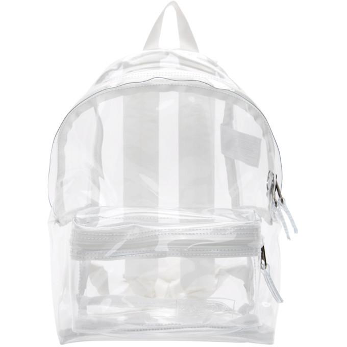 Photo: Eastpak Transparent PVC Orbit Backpack