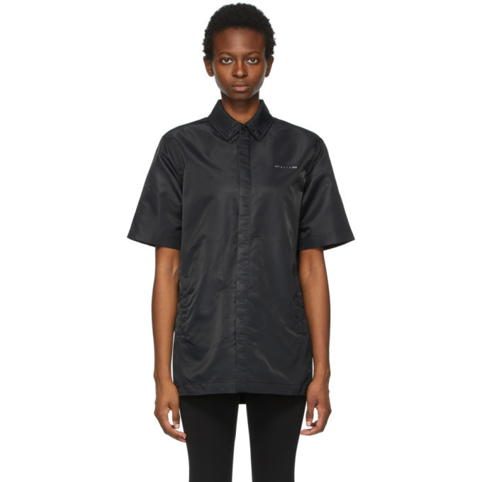 Photo: 1017 ALYX 9SM Black Short Sleeve Shirt