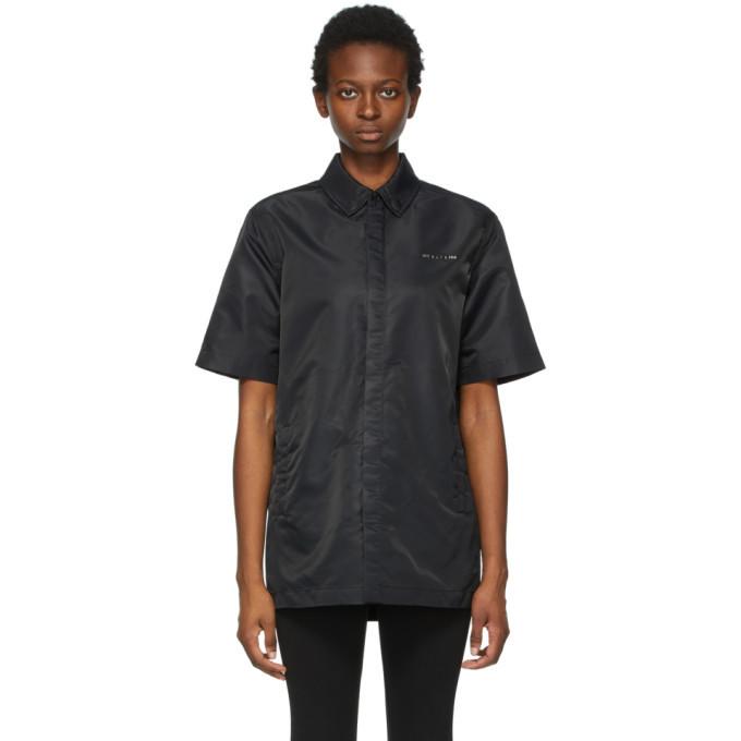 Photo: 1017 ALYX 9SM Black Short Sleeve Shirt