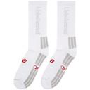 Aries White New Balance Edition Unbalanced Socks