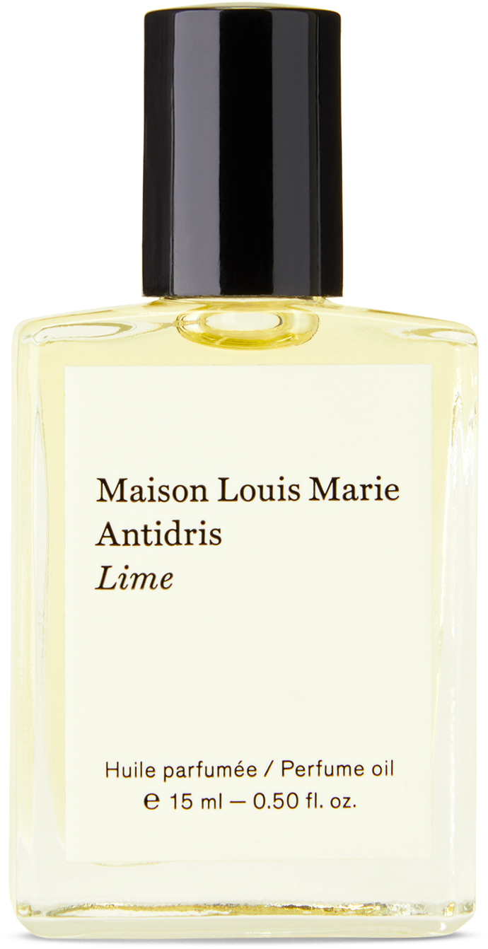 Photo: Maison Louis Marie Antidris Lime Perfume Oil, 15 mL