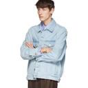 Martine Rose Blue Oversized Denim Jacket
