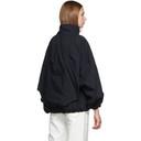 3.1 Phillip Lim Navy Oversized Front Zip Jacket
