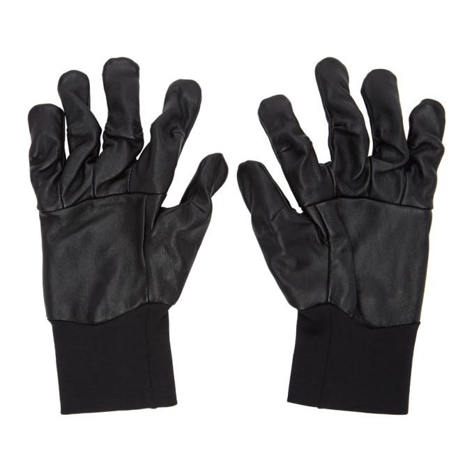 Photo: The Viridi-anne Black Lambskin Gloves