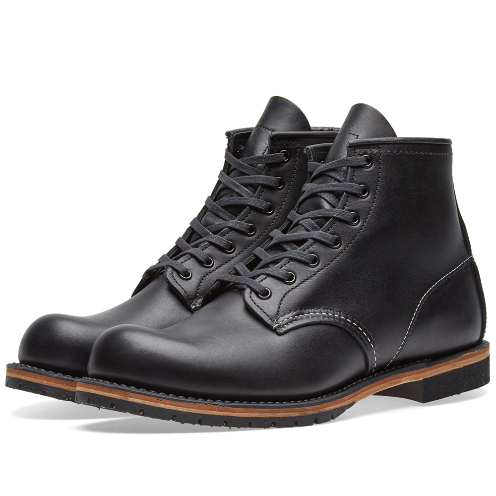 "Photo: Red Wing 9014 Beckman 6"" Round Toe Boot Black"