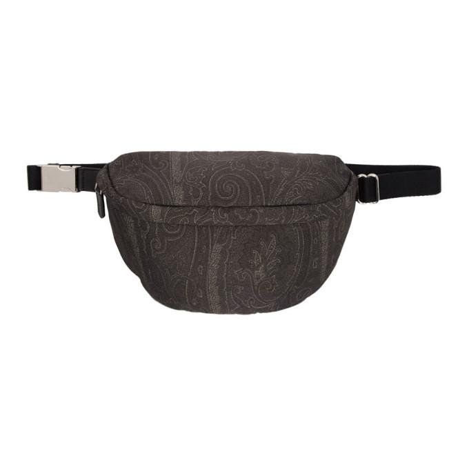 Photo: Etro Black Paisley Belt Bag