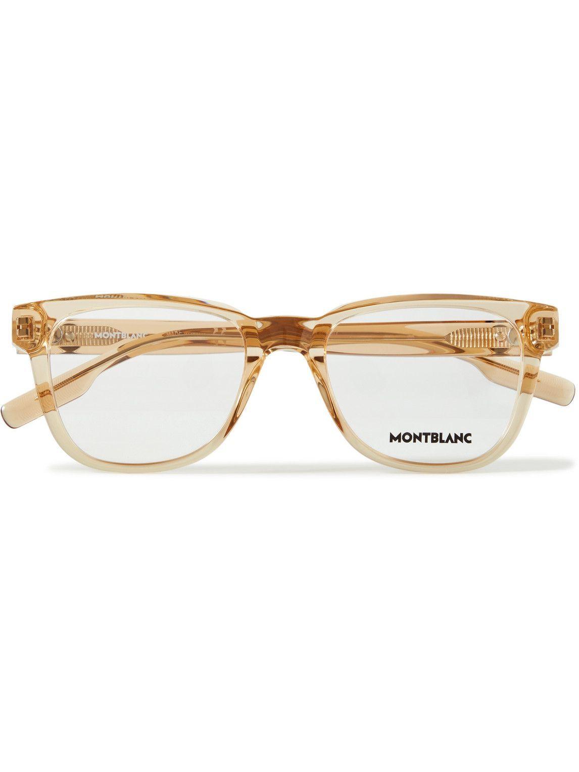 Photo: Montblanc - Square-Frame Acetate Optical Glasses