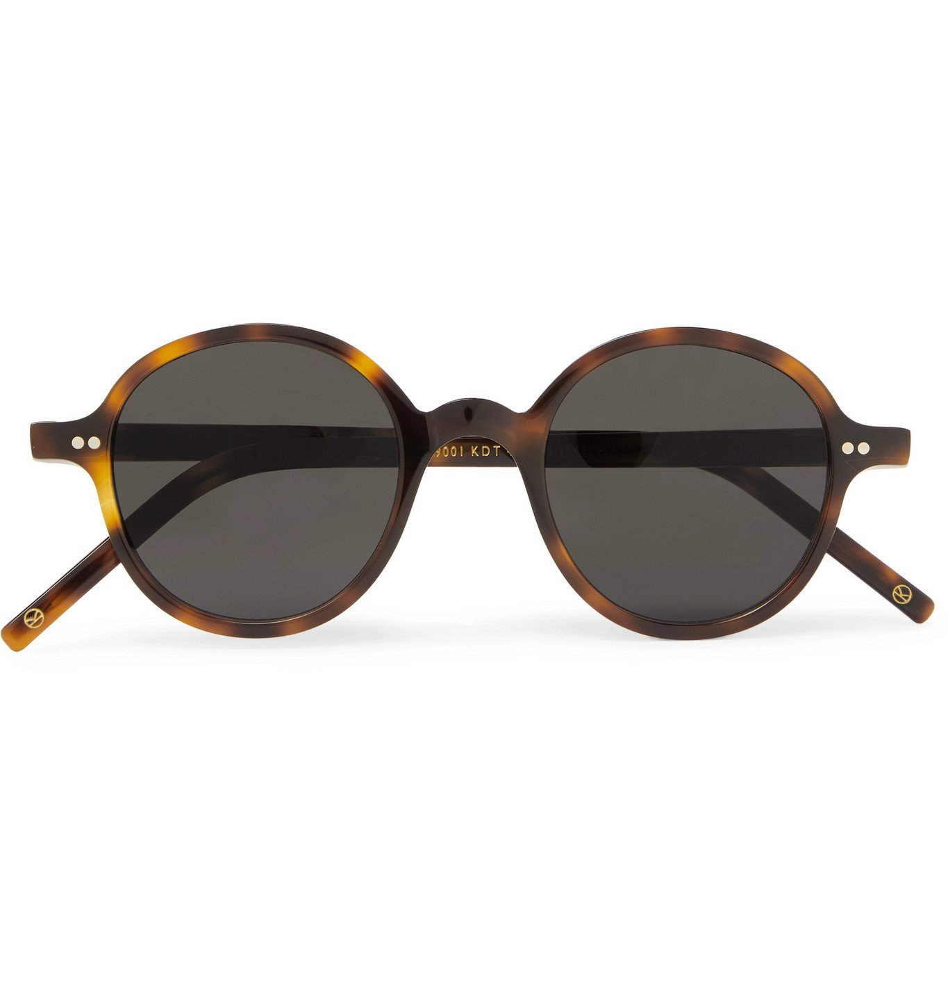 Photo: Kingsman - Cutler and Gross Round-Frame Tortoiseshell Acetate Sunglasses - Tortoiseshell