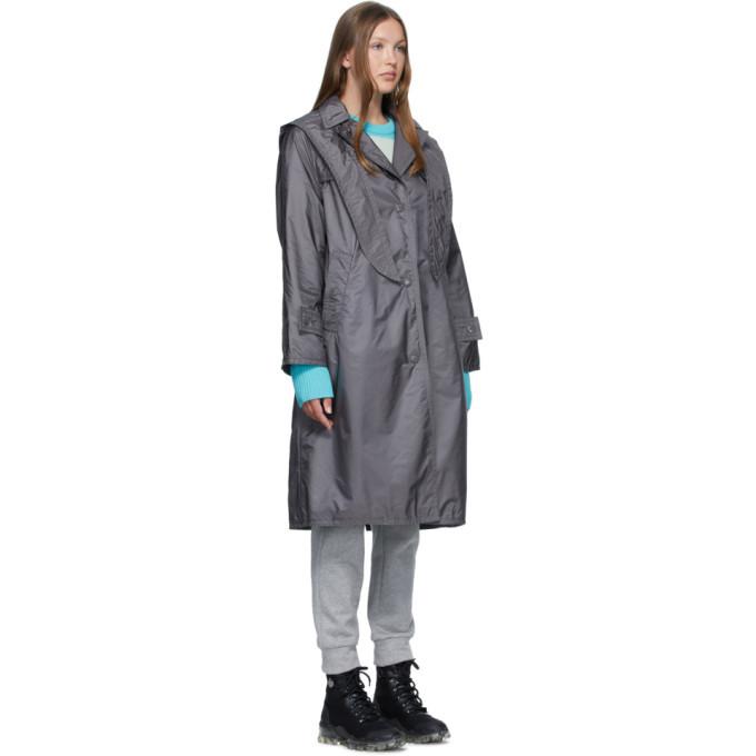 Moncler Grey Vanille Coat