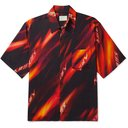Aries - Printed Woven Shirt - Black