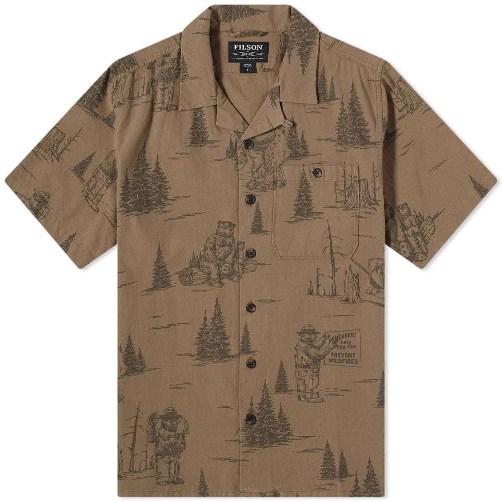 Photo: Filson Smokey Bear Camp Shirt