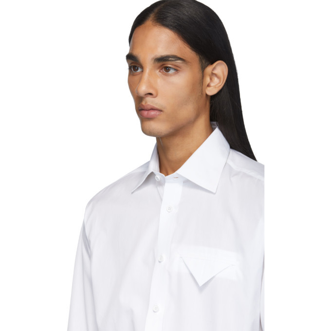 Bottega Veneta White Poplin Shirt