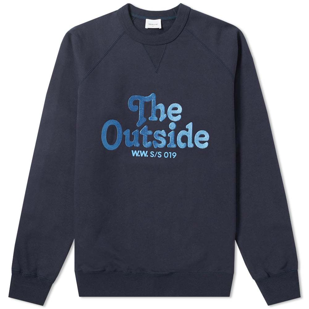 Photo: Wood Wood Hester The Outside Sweat Navy