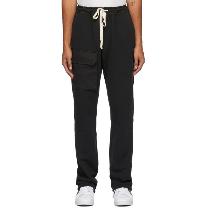 Photo: Reese Cooper Black Pocket Lounge Pants
